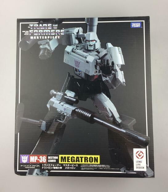 Transformers MP-36 Masterpiece Megatron Destron Leader Action Figure Toys K.O.