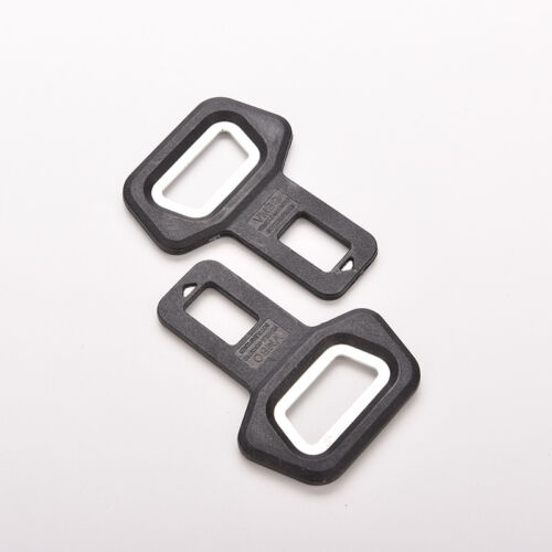 1PC Universal Car Bottle Opener Seat Belt Buckle Alarm Stopper Clip Clamp LAC ER