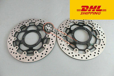 """Front  Brake Disc /""""Rotor For KAWASAKI ZX14R ZX 14R 2006-11 ZX10R 2008-2014 DHL"""