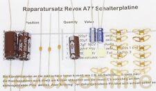 Repairkit, conjunto de reparación para todos Studer Revox a77 conmutador Board 1.077.435