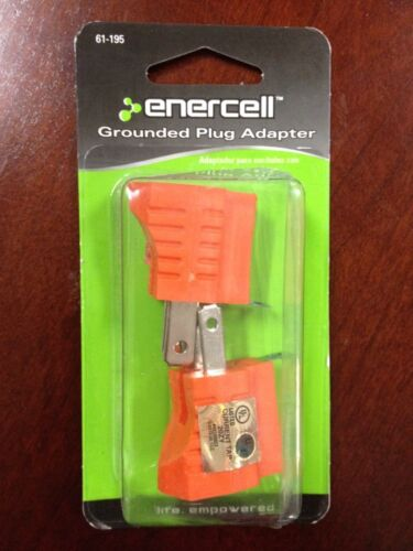 New Enercell™ Grounded Plug Adapters 2-Pack #61-195