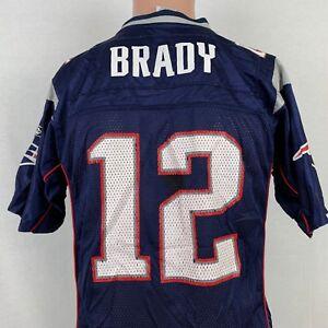 Reebok Youth Tom Brady New England Patriots Replica Jersey L NFL ...