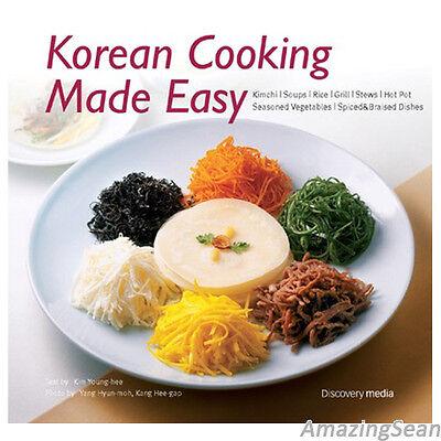Korean Cooking Made Easy Recipes Korean Cook Book English Family Food BO84