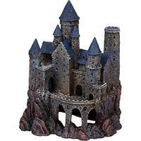 Rrw8 Large Wizard's Castle 9 Tall Penn-plax Age Of Magic Aquarium Decorative Re on Sale