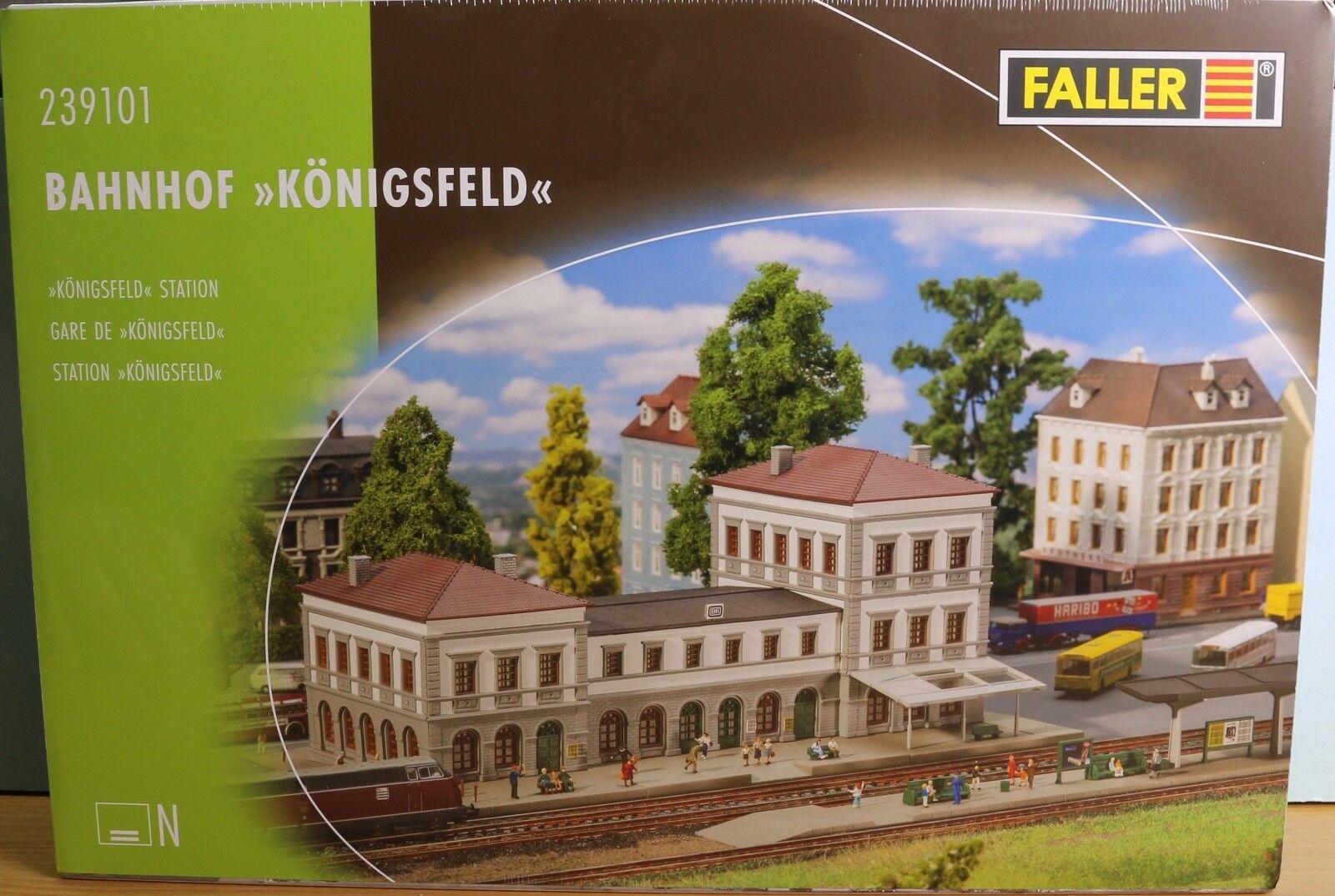 Ftuttier 239202, Traccia N, Kit Kit Kit stazione ferroviaria re campo + marciapiedi 87a679