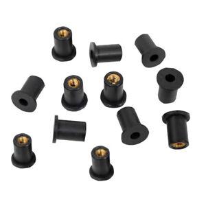 M5-Metrische-Gummi-Mutter-w-Innengewinde-Kajak-Auto-Verkleidungsschrauben
