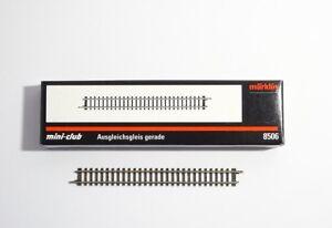 Maerklin-Z-8506-10-x-Ausgleichsgleis-gerade-108-6-mm-neu