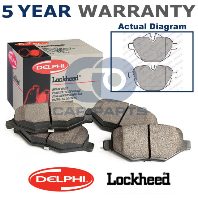 Brembo P06088 Front Right Left Brake Pads Set With M-Tech Fits BMW 1 4 Series