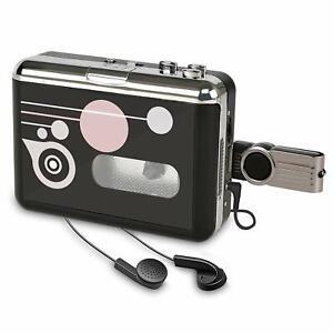 Portable Cassette Player Digital USB Audio Music/Cassette per MP3 Converter