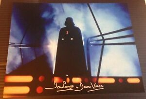 Dave-Prowse-Autograph-Darth-Vader-Star-Wars-Signed-11x14-Photo-AFTAL-5999