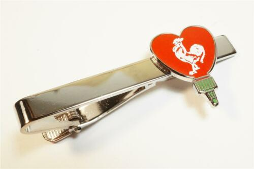 I HEART SRIRACHA Love Bottle Hot Chili Sauce Pho Suit Wedding Tie Bar Clip