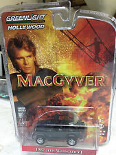 Greenlight 1/64 MacGyver 1987 Jeep Wrangler YJ Hollywood Series 16