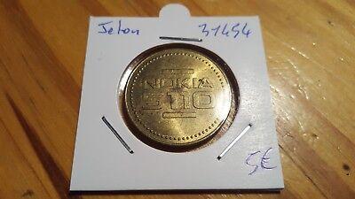 Coins & Paper Money Efficient Ficha Nokia 5110 X-press-on Tapas Ref31454