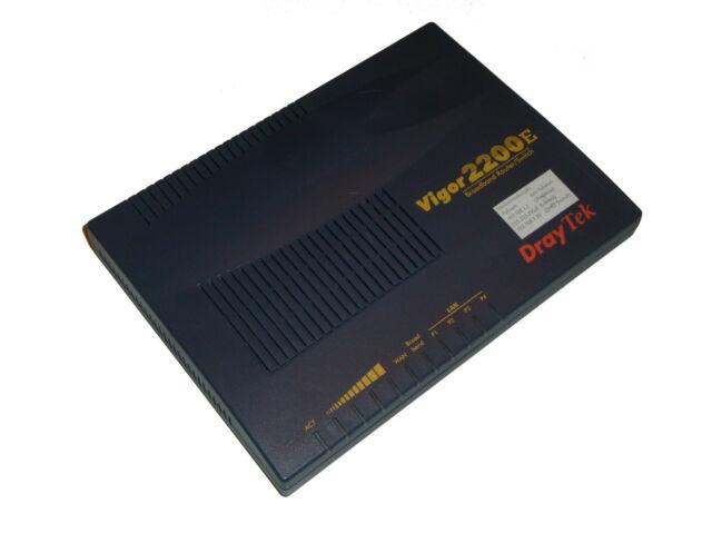 DrayTek Vigor 2200E Broadband Router Switch                                  *20