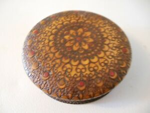 Polish-Wooden-Bowl-Jewelry-Box-Handmade-Very-Decorative-Style