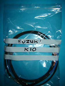 suzuki k10 80cc two stroke wiring harness cable loom k10-7110b 36610-03001