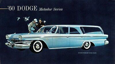 Tool Box Magnet 1962 Dodge Lancer Station Wagon Red Refrigerator Fridge