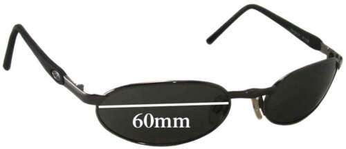 60 mm large Effets spéciaux de remplacement Lunettes de soleil lentilles Fits Killer Loop K1156 Vengeance