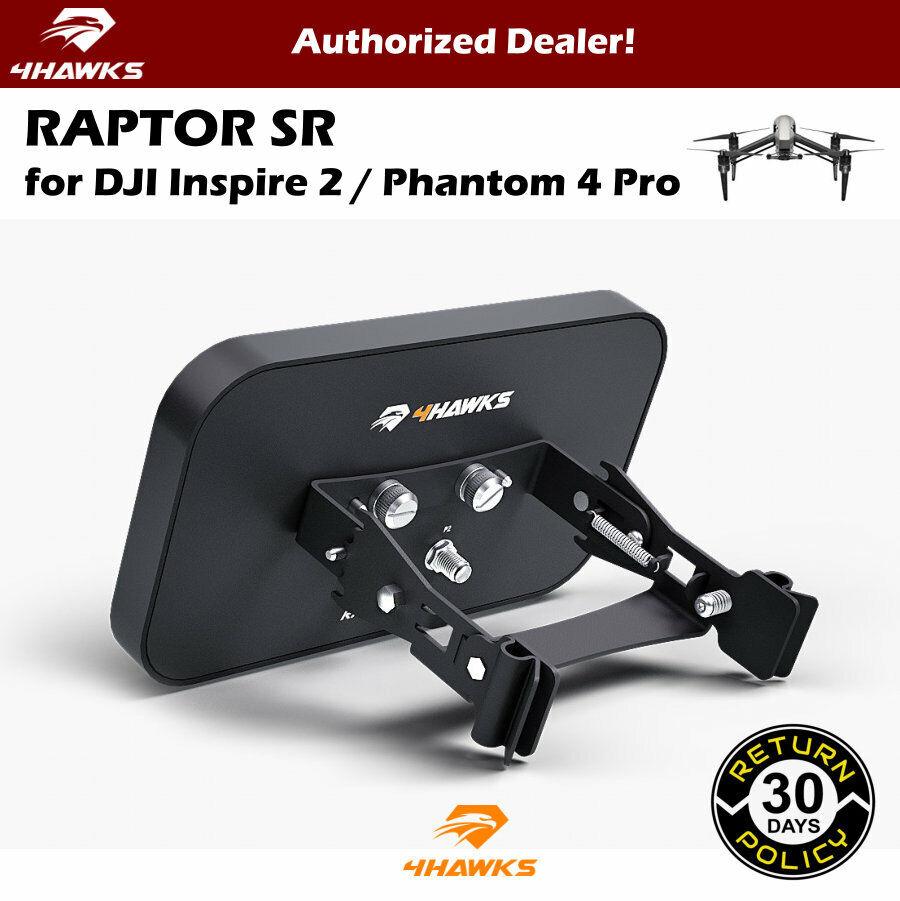 4Hawks Raptor SR Range Extender Antenna  for DJI Inspire 2   DJI P4 Pro Obsidian  negozio di moda in vendita