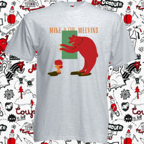 New Mike and The Melvins Three Men and Baby Men/'s Grey T-Shirt Size S to 3XL