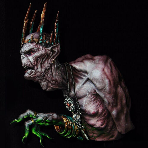 █ 1//10 Resin Figure Bust Old Vampire Unassembled Unpainted