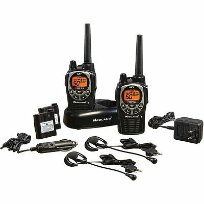 Midland GXT1000VP4 36-Mile 50-Channel FRS/GMRS Two-Way Radio Pair GXT 1000