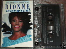DIONNE WARWICK THE LOVE SONG COLLECTION CASSETTE 20trac