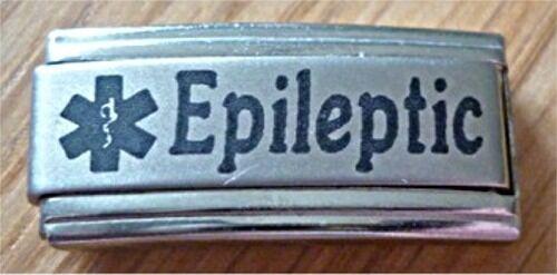 Encantos italiano W8 alerta médica epilepsia epiléptico