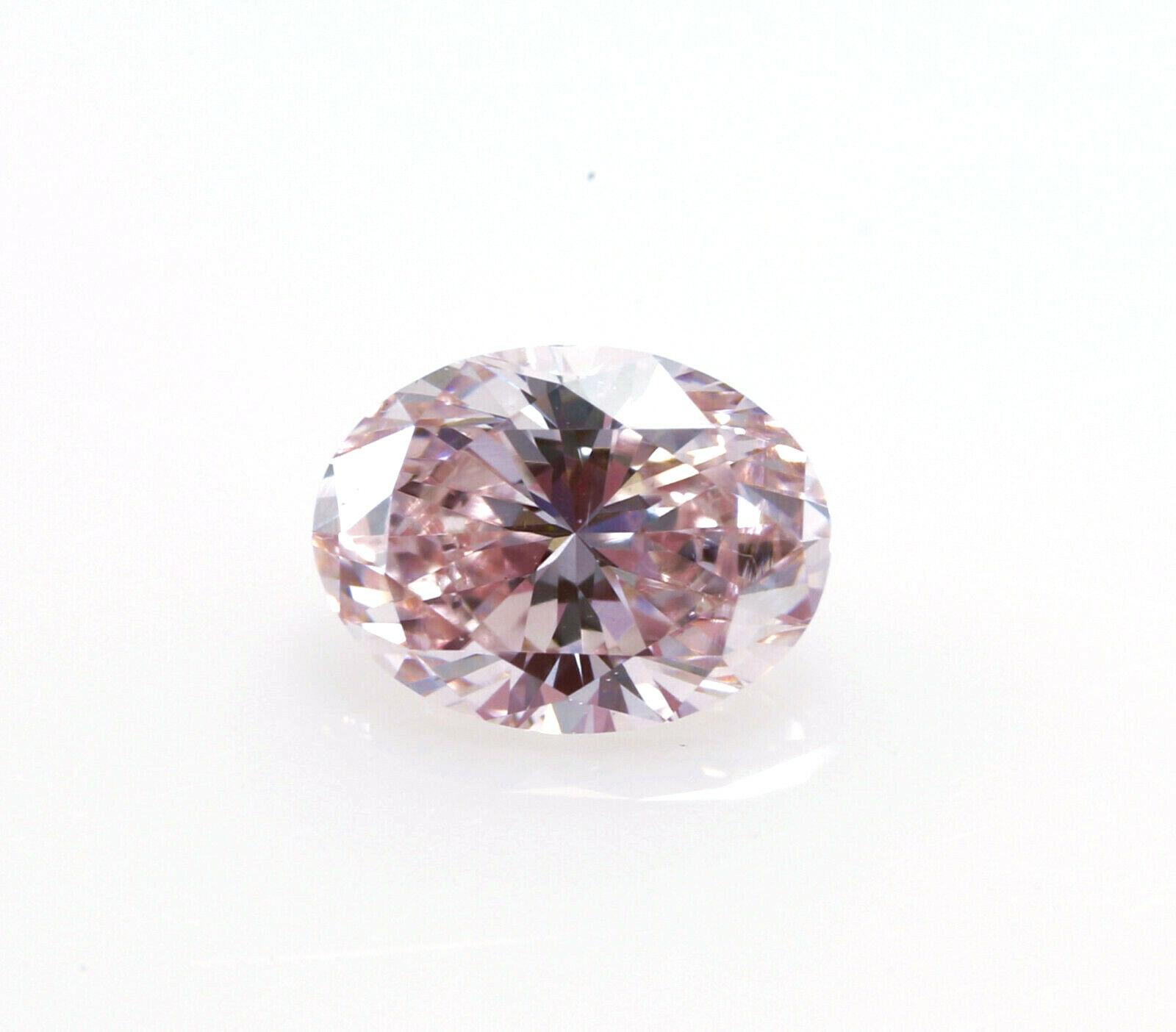 Natural Pink Diamond AIG Certified 0.16 carat pink diamond