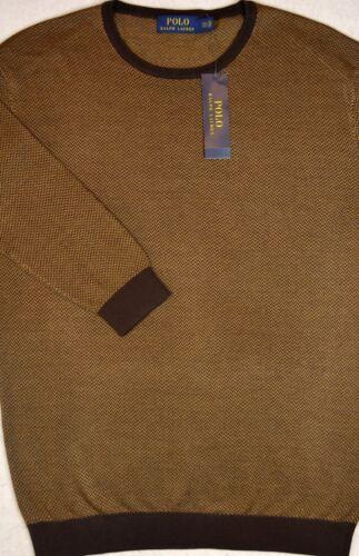Polo Ralph Lauren Sweater Silk Cotton Crewneck Size M New NWT $198