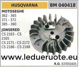 537051605 VOLANO MAGNETICO magnete MOTOSEGA HUSQVARNA 362 365 371 372 385 390