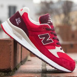 hot sale online d3efa 210d7 Details about NEW* New Balance Men's Shoes M530RAA ELITE EDITION 90's  Running 530 Red Cherry
