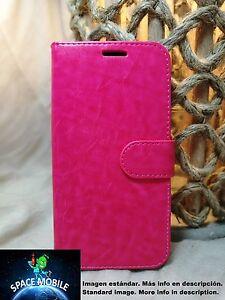 Coque-Rabat-Livre-Cover-Etui-Samsung-Galaxy-J7-Pro-Fuchsia-Fuchsia