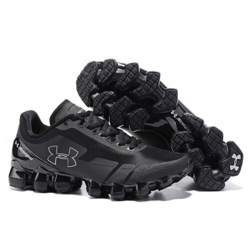 Zapatillas de Ua todas de color running hombre Scorpio para 2018 para hombre negro Armour Under HZgqdHwx