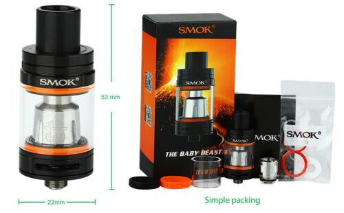 VETRI SMOK TANK TFV8 tutto a scelta anche Kit e Coil AUTENTICI SMOK