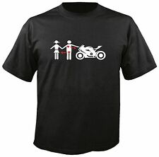 T-shirt I-Love/BMW s1000rr BUELL TRIUMPH STREETFIGHTER // dimensione: M - 3xl