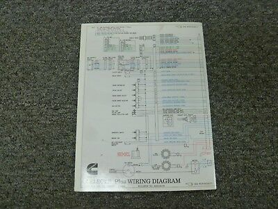 1997-1998 Cummins M11 Celect Plus Diesel Engine Electrical ...