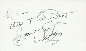 Entertainment Memorabilia Jane Withers Actress Singer Tv Movie Autographed Signed Index Card
