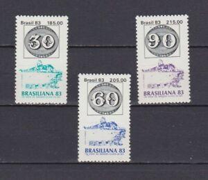 S19100) Brasilien Brazil MNH Neu 1983 Brazilian 83 3v