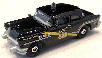 Loose 1:64 Black Coffee Cruisers Matchbox /'56 Buick Century Police