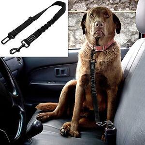 Safety Dog Car Seat Belt Clip Harness Restraint Lead Adjustable Pet