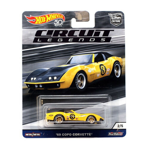 Hot Wheels FPY86-27 COPO Corvette #3 gelb//schwarz Circuit Legends 1:64 NEU!°