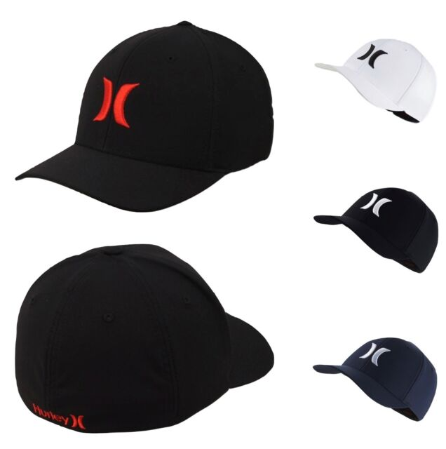 1ca3bbc2a Hurley One And Only Dri-Fit FlexFit Fitted Hat Cap S/M , L/XL