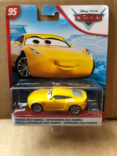 New Release DISNEY CARS DIECAST Cars 3 Trainer Cruz Ramirez Combined Postage