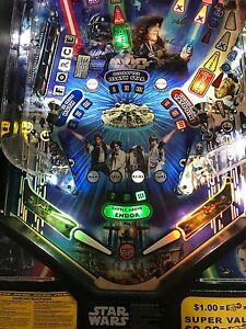 Star Wars Pinball Machine >> Slingshot Return Lane Protector Set For Stern S Star Wars Pinball