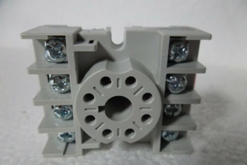 LOT-2 Dayton Relay Socket Standard Octal 8-Pin 15A@300VAC 10A@600VAC 5X852N NEW