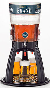 Beer-Tower-5-Liters-Original-Tabletop-Beverage-Dispenser-with-cooling-three-taps
