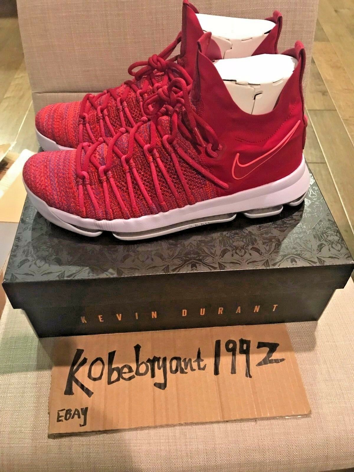 Nike Zoom KD 9 Elite MVP Wanda  Red Purple Kevin Durant 878637-666 size 11 best-selling model of the brand The most popular shoes for men and women