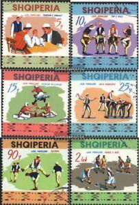 Albanien-1570-1575-kompl-Ausg-gestempelt-1972-Volkssportfest