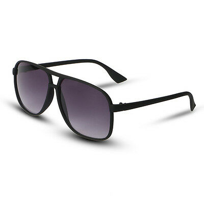 New Hot Fashion Matte Black Men's Sunglasses Glasses Oculos Shades